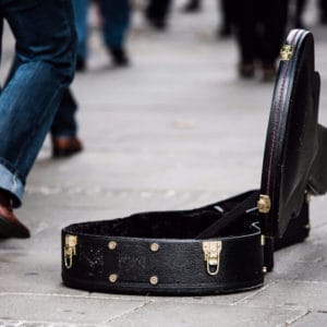 A Remarkable Story About Busking